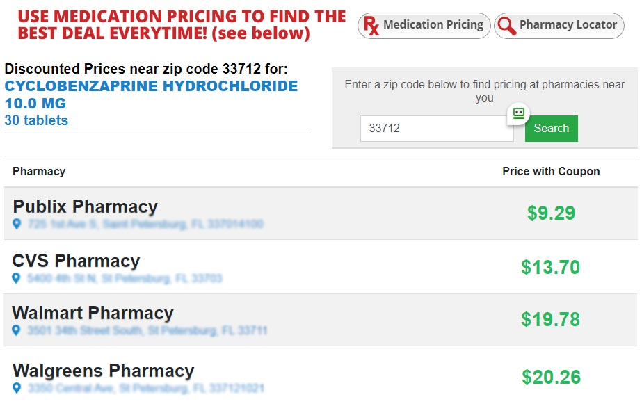 Get the best price on your prescriptions everytime!