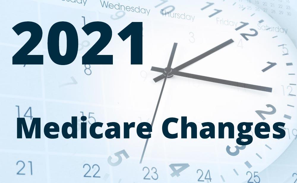 Major Changes in Medicare for 2021