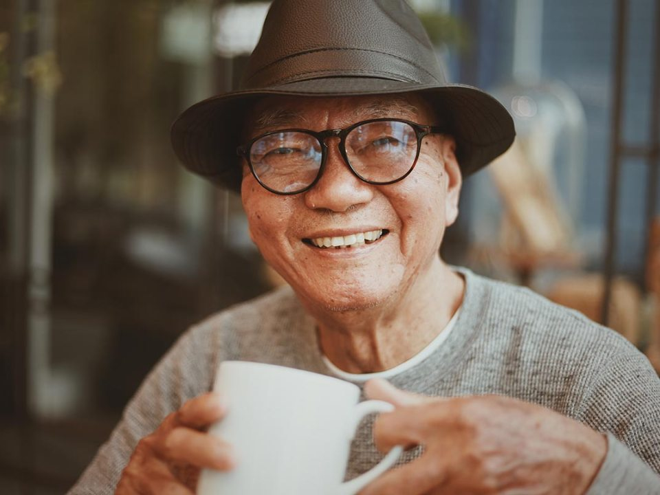 Medicare beneficiary happy with total coverage