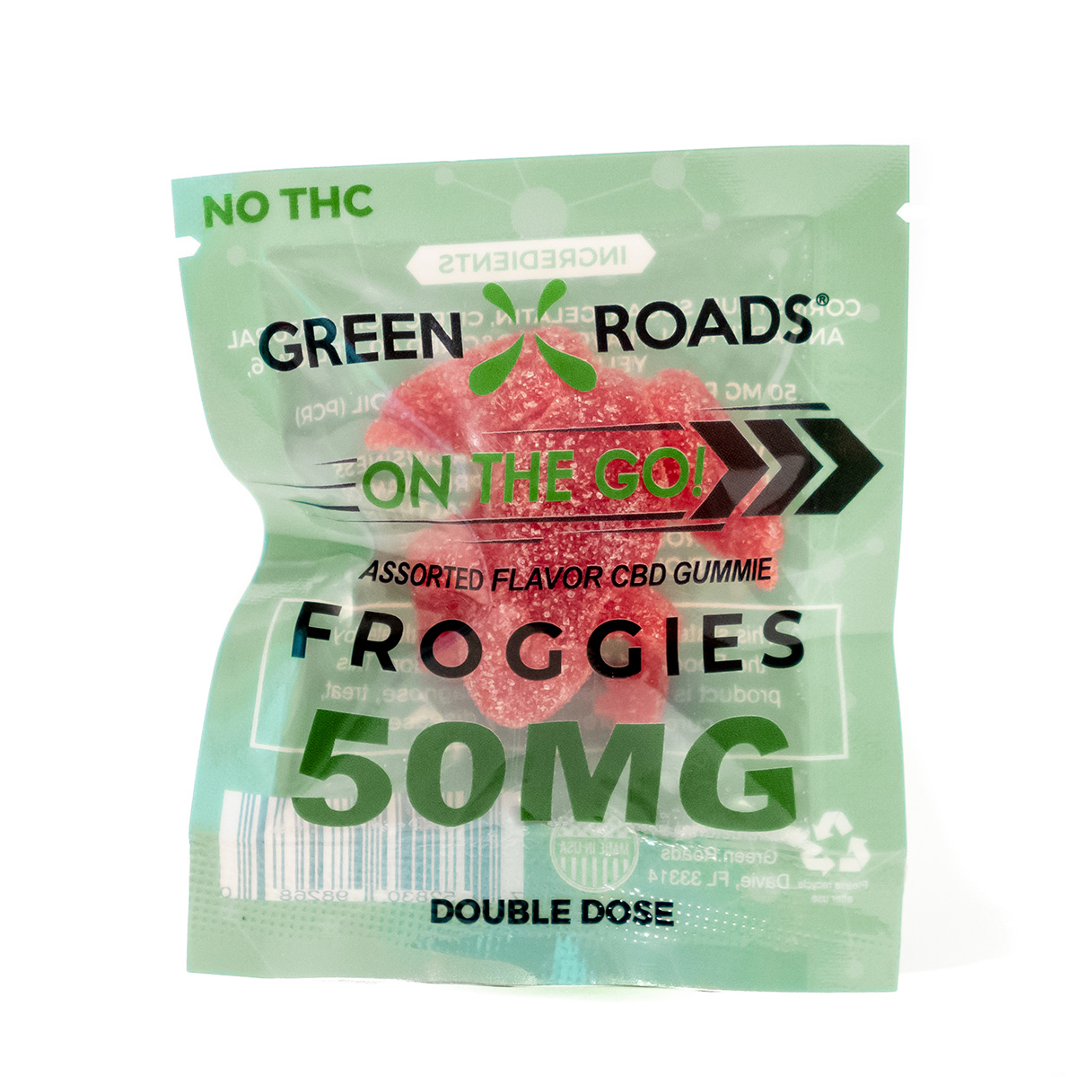 50 MG Froggie (2 Doses) $8