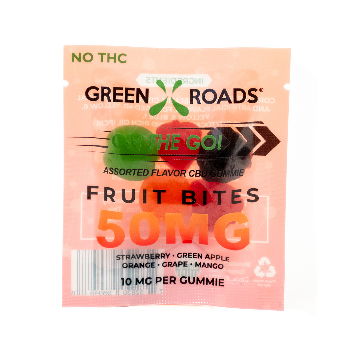 50 MG Fruit Bites (2 Doses) $8
