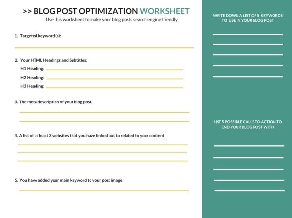 Blogger SEO: The Rookies Guide to Optimizing a Blog Post ...