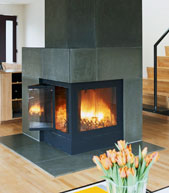 Corner-Contemporary-Wood-Fireplace