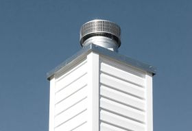 The Importance Of A Chimney Chase Cover - Indianapolis IN - Your Chimney Sweep Inc.