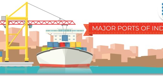 Major seaports in India