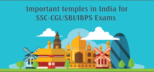 Important temples in India for SSC-CGL/SBI/IBPS Exams