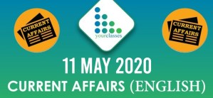 11 May, Current Affairs 2020 in English