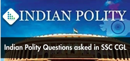 Indian Polity Questions asked in SSC CGL 2018/2017 (Hindi/Eng)