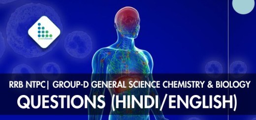 RRB NTPC| Group-D General Science Chemistry & Biology Questions (Hindi/English)