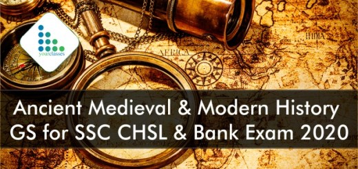 Ancient Medieval & Modern History | GS for SSC CHSL & Bank Exam 2020