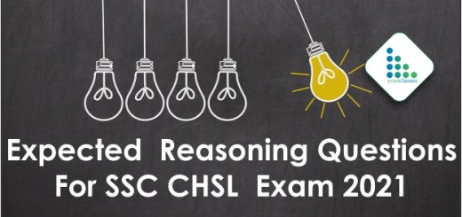 Expected Reasoning Questions For SSC CHSL Exam 2021
