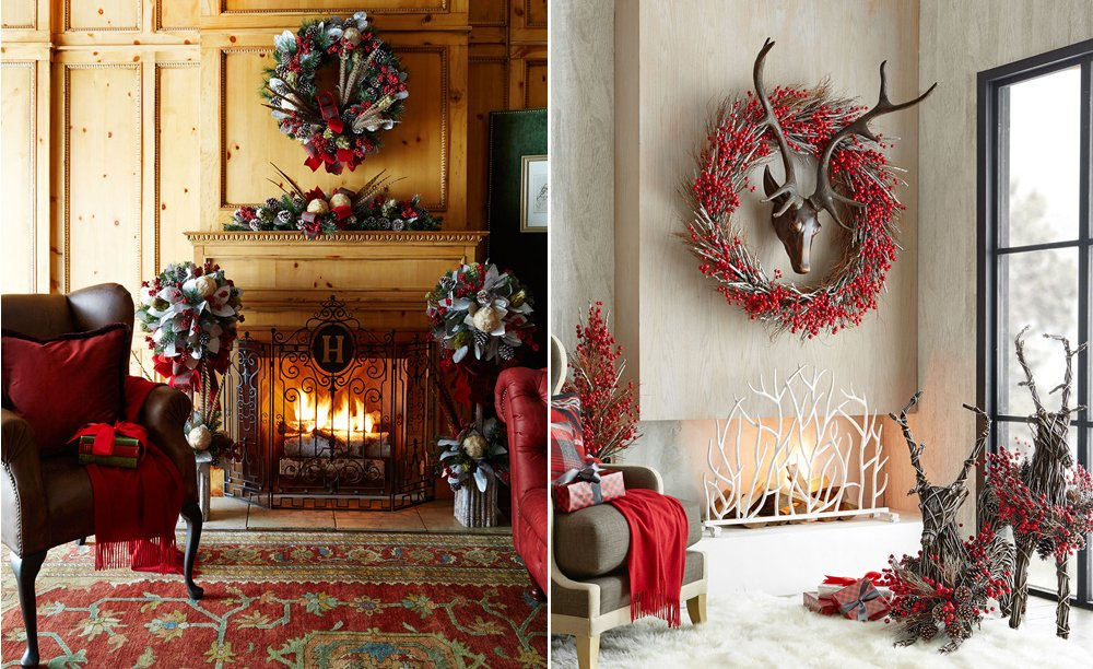 A Colorado Christmas Design Trend: Stylized Woodland