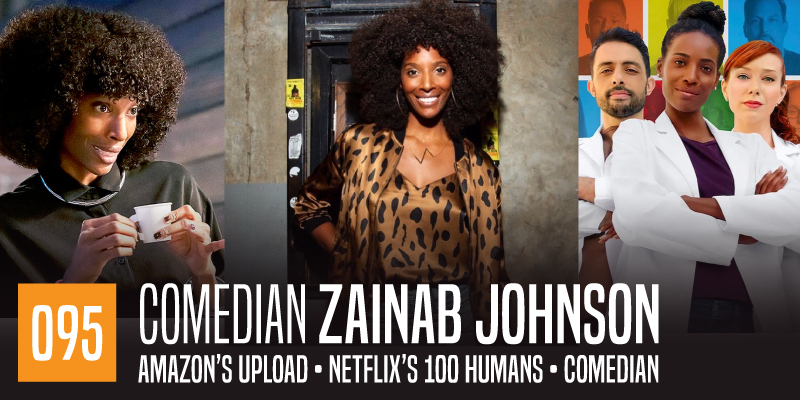 """PODCAST 095: """"Zainab Johnson"""""""