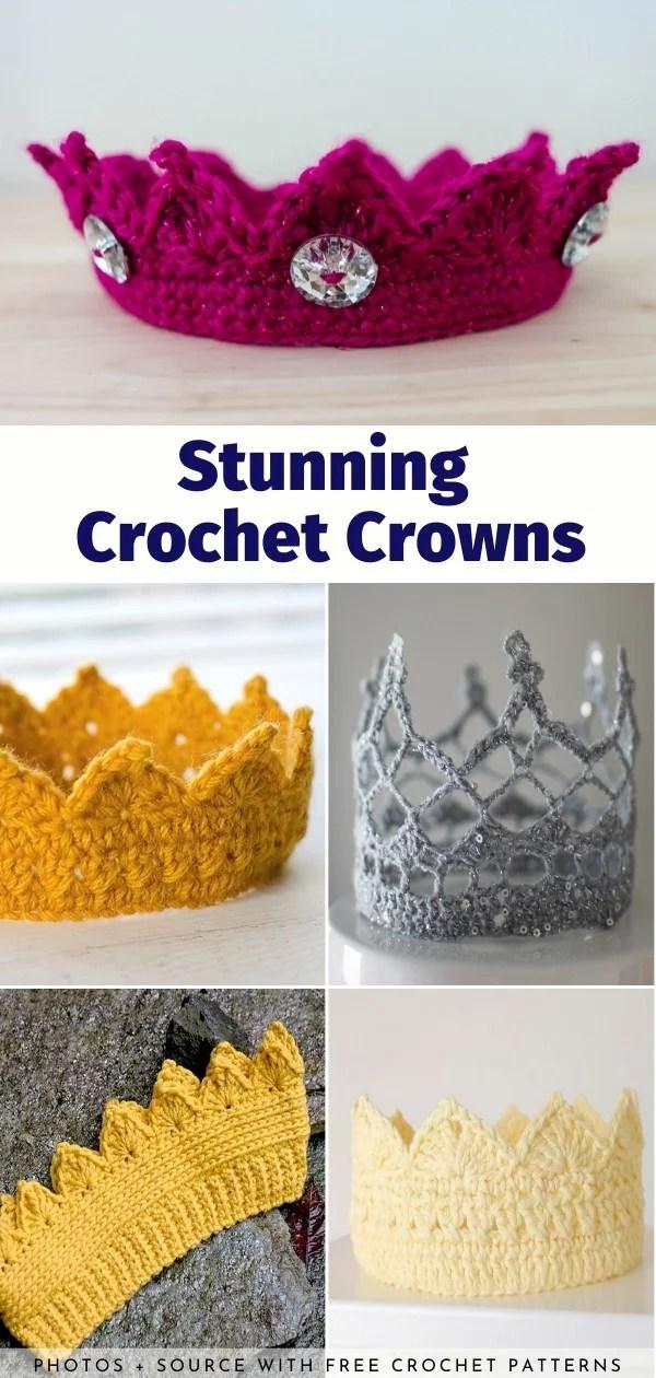 Stunning Crochet Crowns Free Crochet Pattern