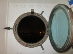 The portholes open :-)