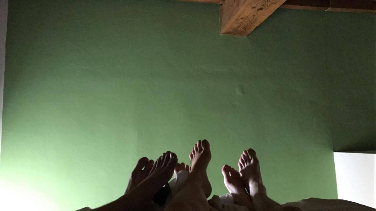 voeten in bed