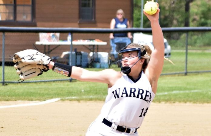 Stuart Tosses Two Gems as Warren Sweeps DH with LeBoeuf