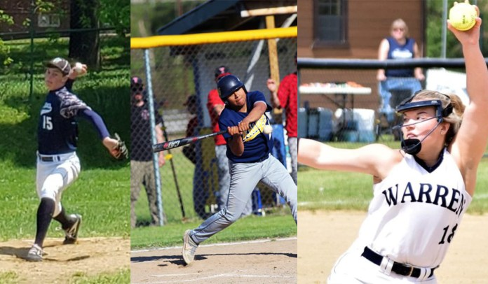 Warren Softball; Eisenhower, Warren Baseball Get Quarterfinal Matchups