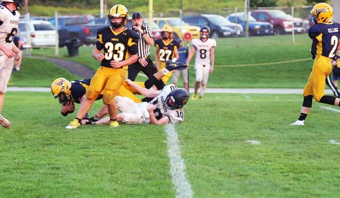 Shawn Pascuzzi touchdown