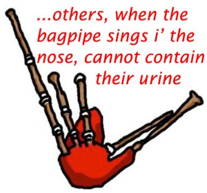 bagpipe and bagpipes, likes and dislikes and musical taste