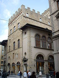 P{alace of the Guilds of the Wool Makers in Florence