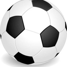 "A football or soccer ball to illustrate a Shakespeare quote, ""I have some sport in hand Wherein your cunning can assist me much."""