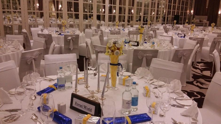 wedding decor ballroom