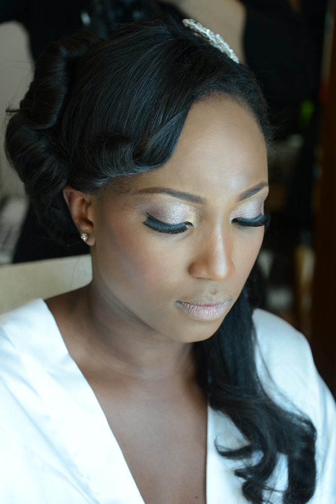 bride make up wedding dubai nigerian
