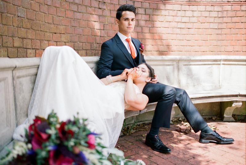 london couple wedding