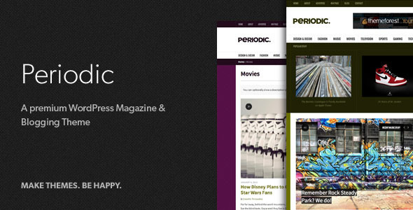 Periodic - A Premium WordPress Magazine Theme