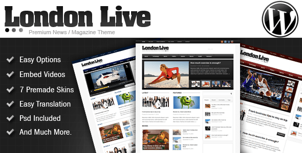 London Live 3 In 1 - News, Magazine And Blog