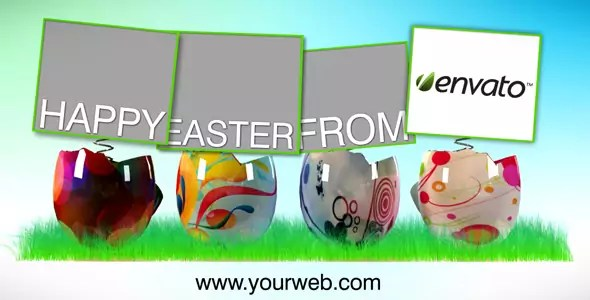 Easter Time, Video Ecard - AE CS4 Project