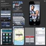 Free iOS 6 GUI PSD - iPhone 5