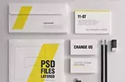 Realistic Stationery Mockups Set 1  Corporate ID