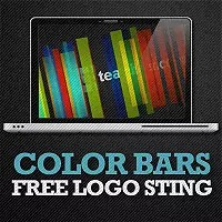 Free After Effects Project - Color Bars - Logo Sting