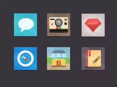 13 Free Flat Icon Sets