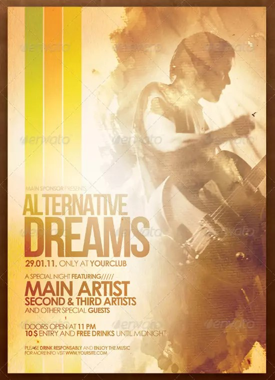 Alternative Flyer Poster Vol.3