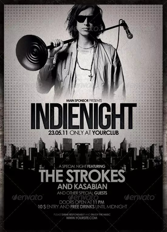 Indie Flyer Poster Vol 5