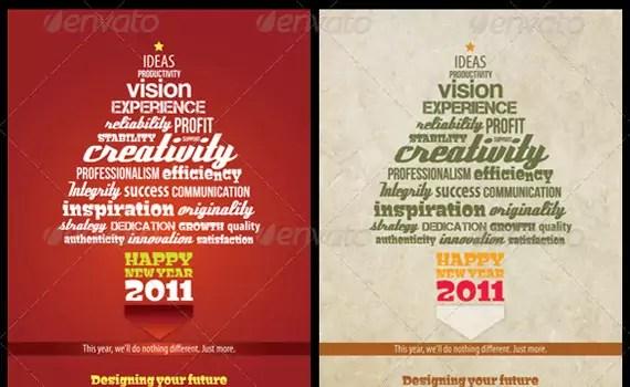 Typography-template-premium-print-ready-flyers