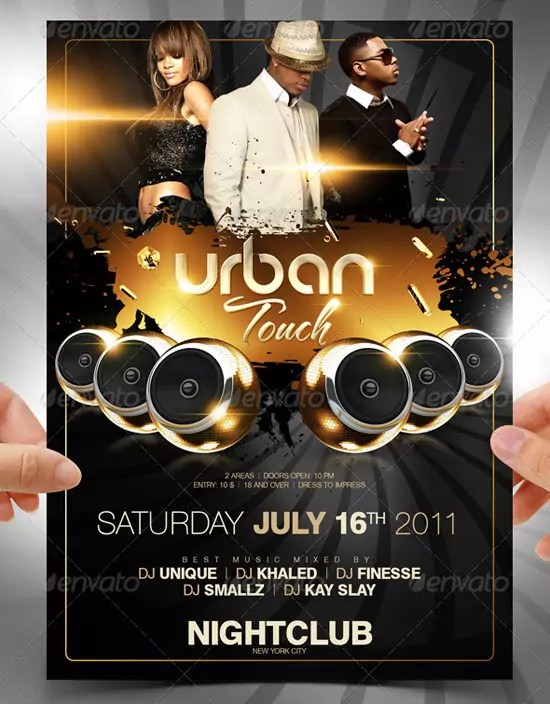 Urban Touch Flyer Template