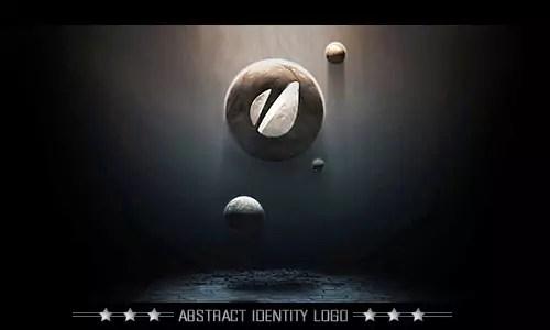 abstract logo identity