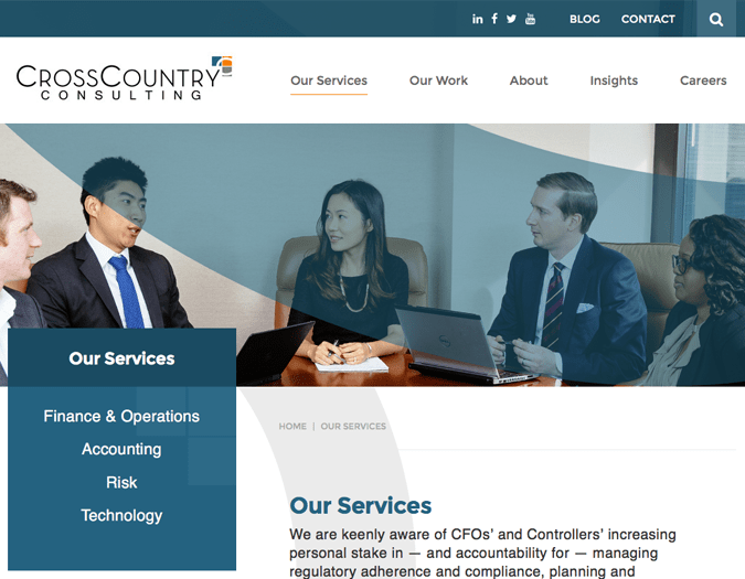 Portfolio image of CCC-services