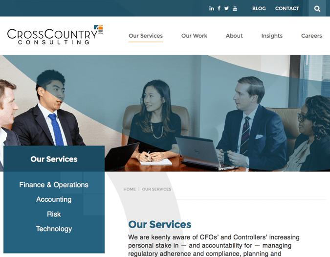 Portfolio image of CCC-services