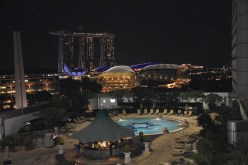 Singapore View from Fairmont Hotel