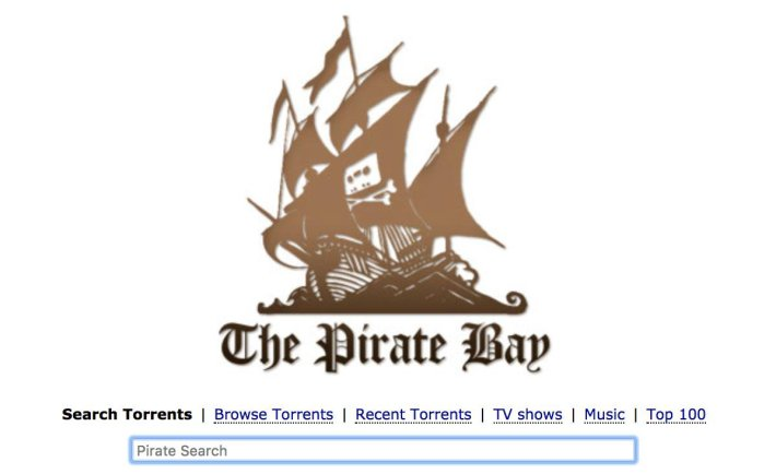 the pirate bay  -  extratorrent