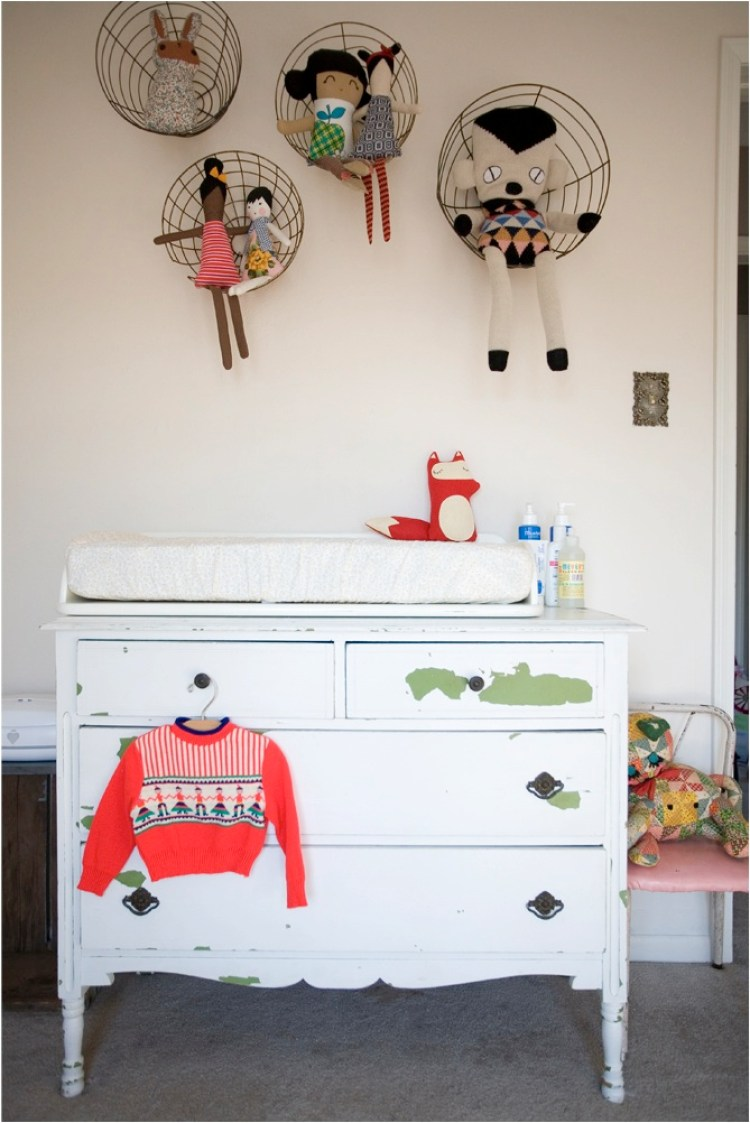 Unique storage ideas for nurseries and kids room for Kids room toy storage