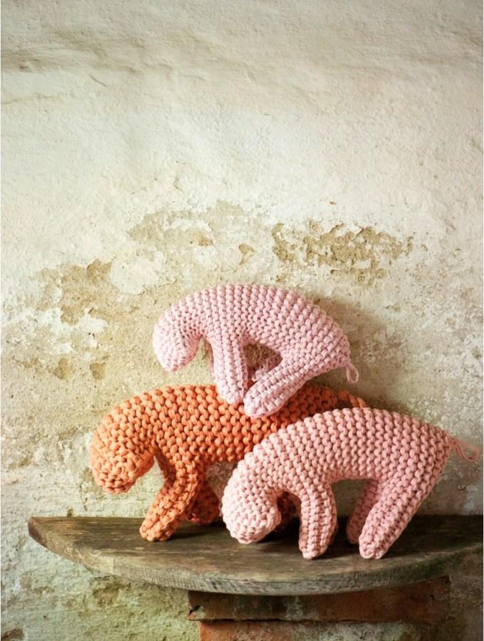 DIY: Floppy sheep soft toys
