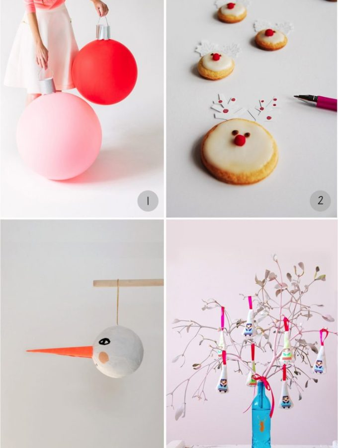 4 cute Christmas crafts for kids
