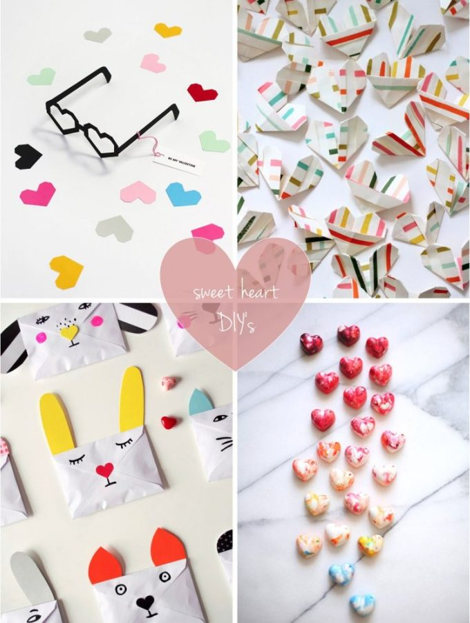 I heart you: 4 heart shaped valentines crafts for kids