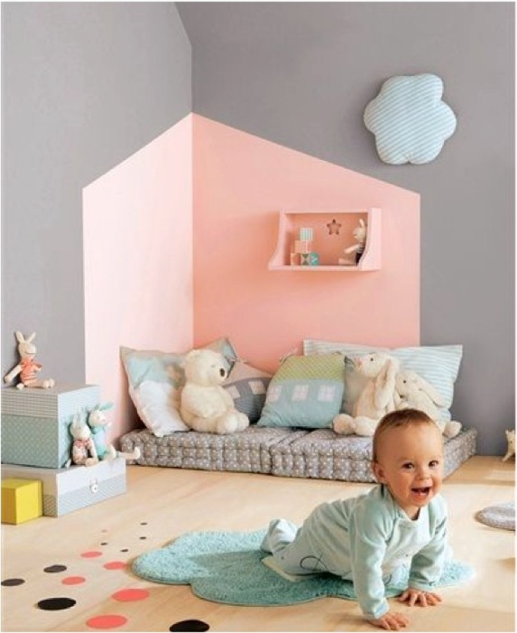 """pastel baby nursery decor ideas"""